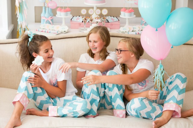 Teen/tween slumber birthday party