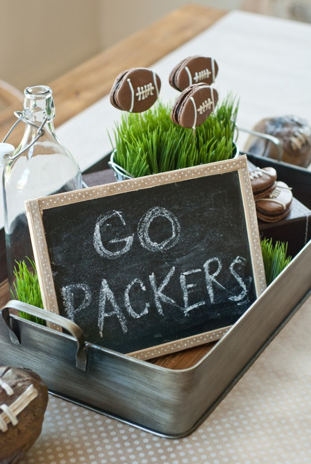 packers game decorations