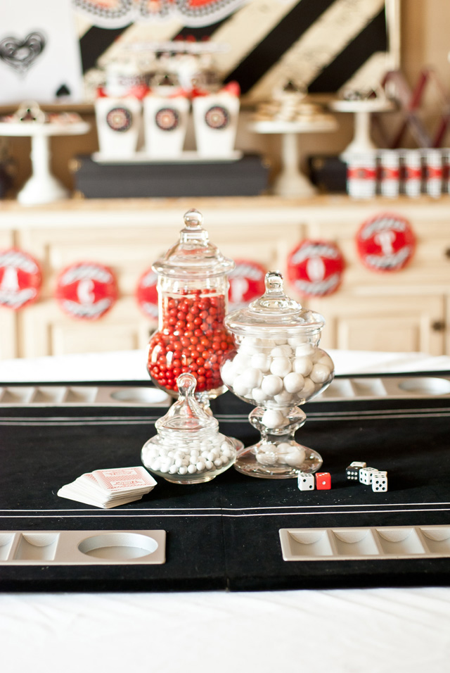 game night centerpieces