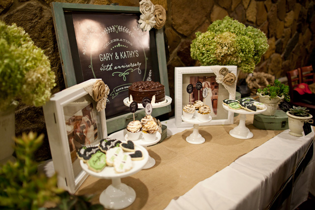love grows dessert table
