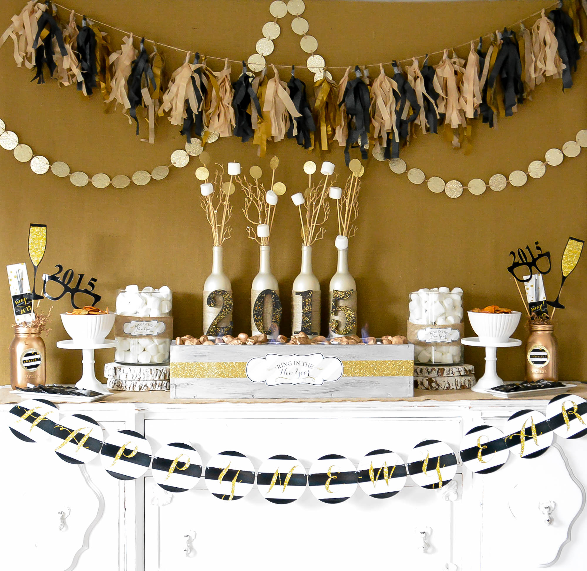 Sneak Peak - A Rustic Glam New Years - Anders Ruff Custom Designs, LLC