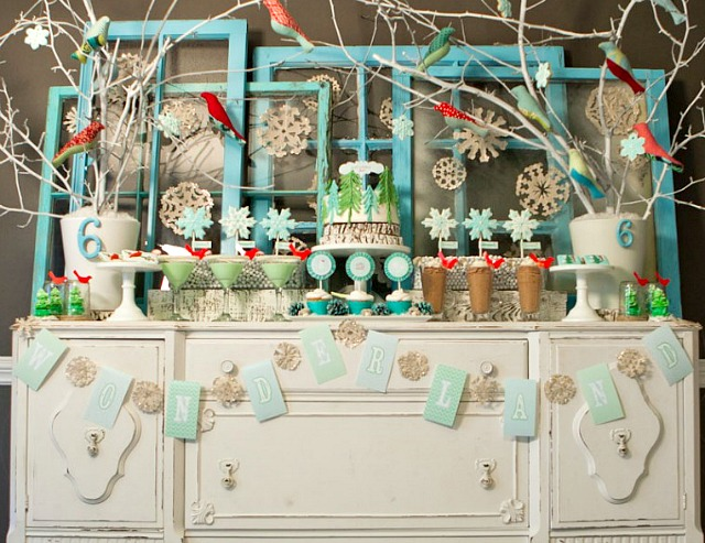 winter-wonderland-party-Christmas-Decorations