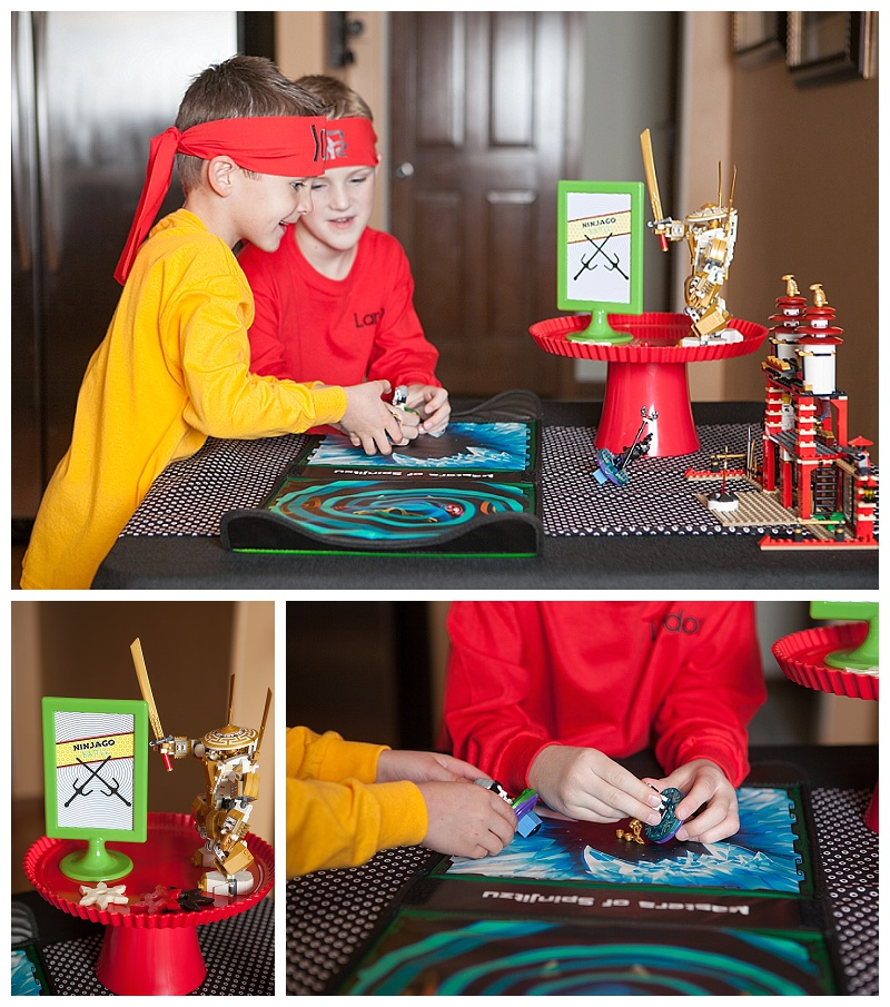 A Lego Ninjago Inspired Birthday Party