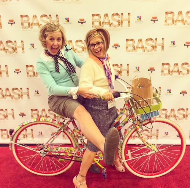 Laverne & Shirley at Bash
