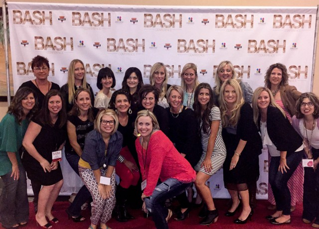 Group shot at Bash