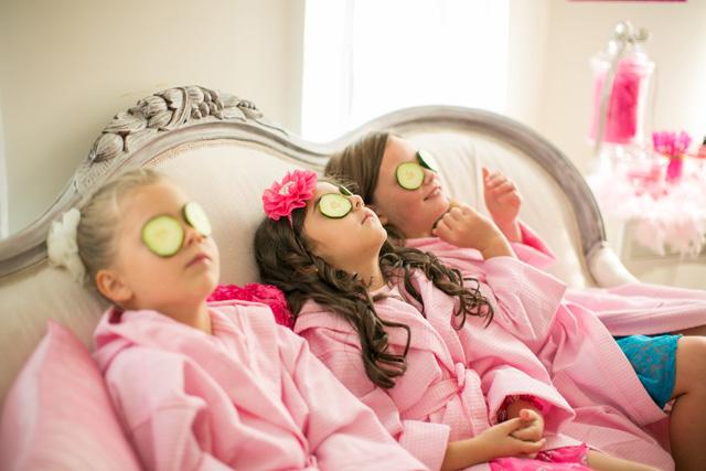 spa party treatments