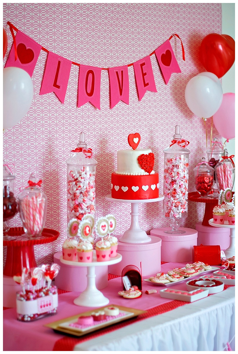 A Sweet Valentines Day Party Anders Ruff Custom Designs
