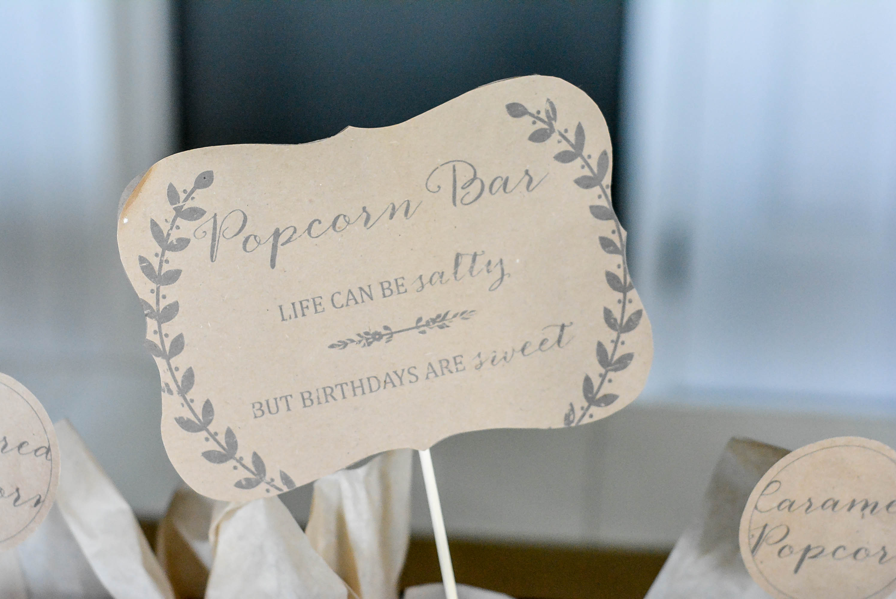Ruff Draft: Popcorn Bar with Craft Paper Accents - Anders Ruff ...