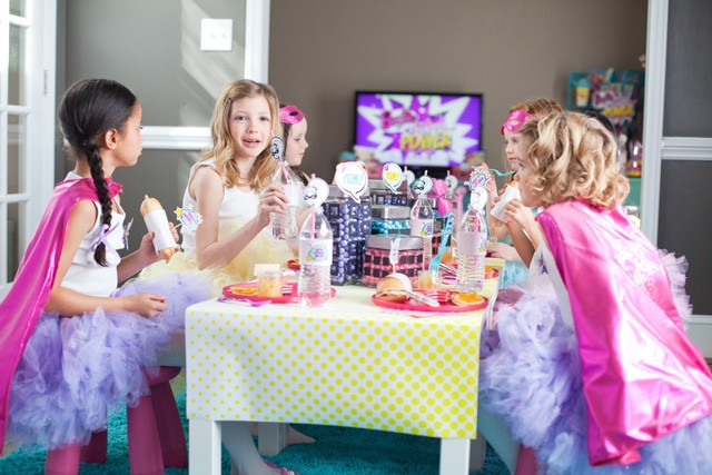 barbie eating area