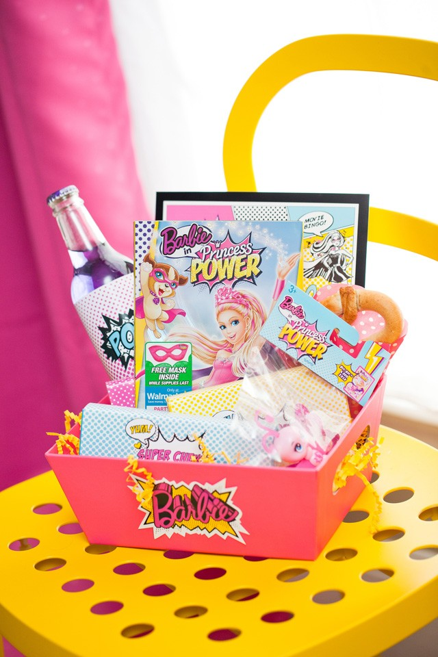barbie movie snack box