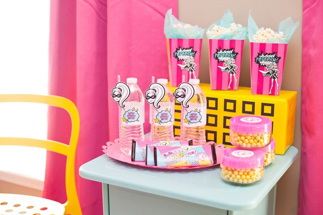 barbie snack station