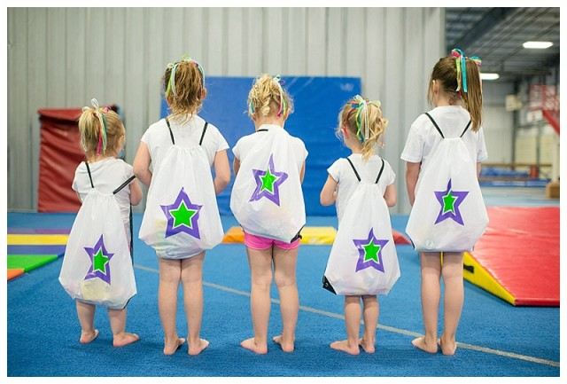 girl gymnastics party