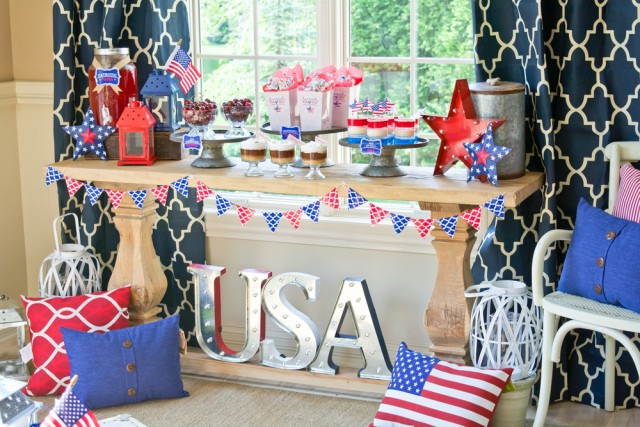 Our NEW Patriotic 4th of July Party Ideas - Anders Ruff Custom ...