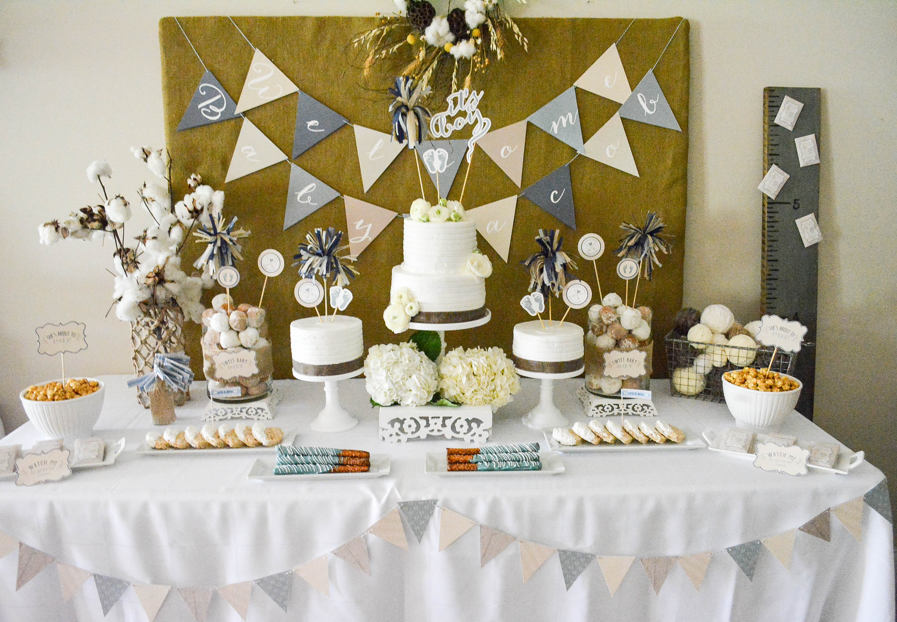 Exceptional Rustic Baby Shower