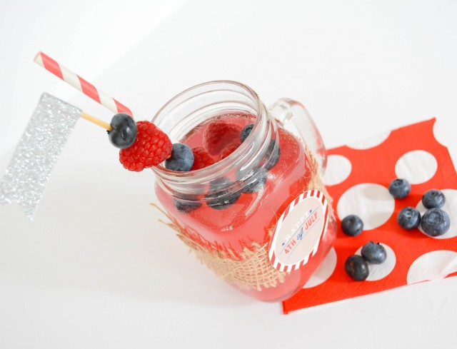 Patriotic punch for 4th of july