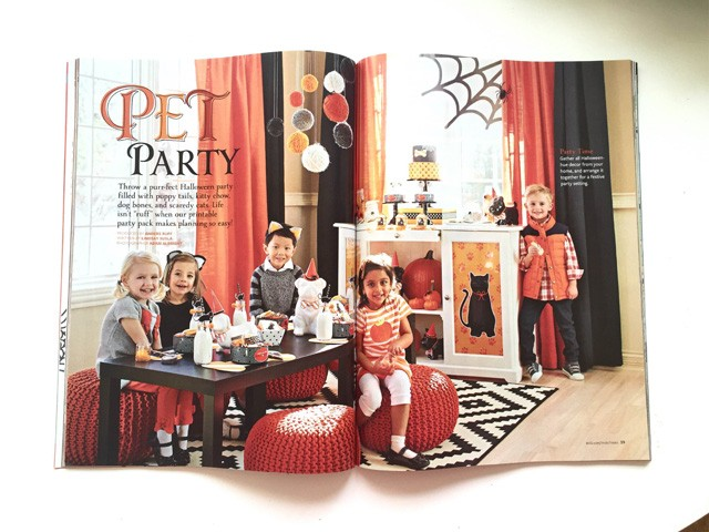 Our Halloween Pet Party For Better Homes And Gardens Now