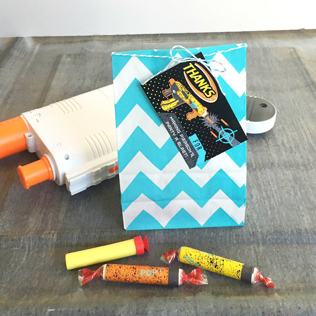 nerf party favors