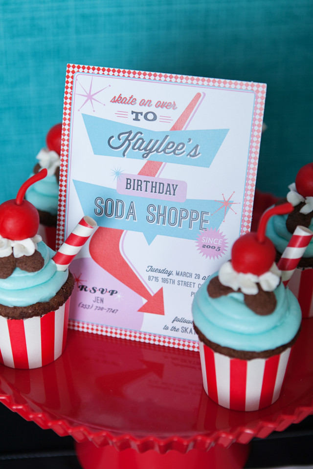 Retro Soda Shoppe Birthday