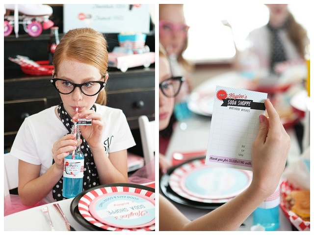 A Retro Soda Shoppe Birthday Party Anders Ruff Custom