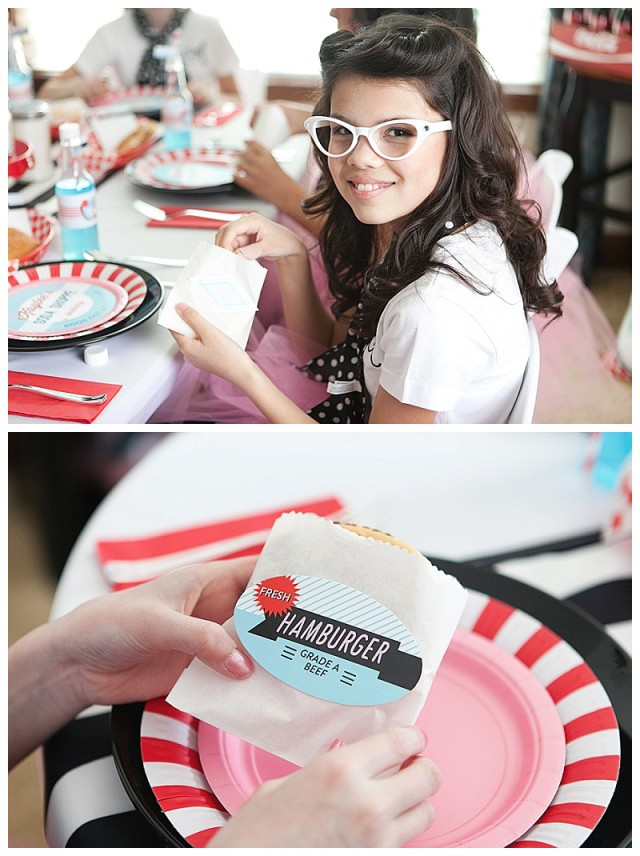 Retro Soda Shoppe Party Food