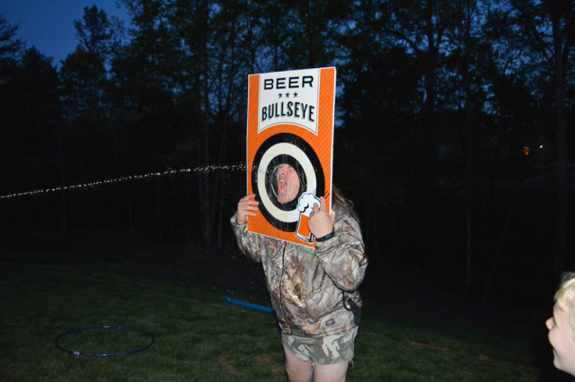 beer bullseye game