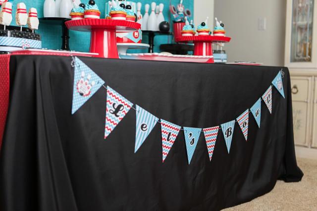Retro Bowling Birthday Party