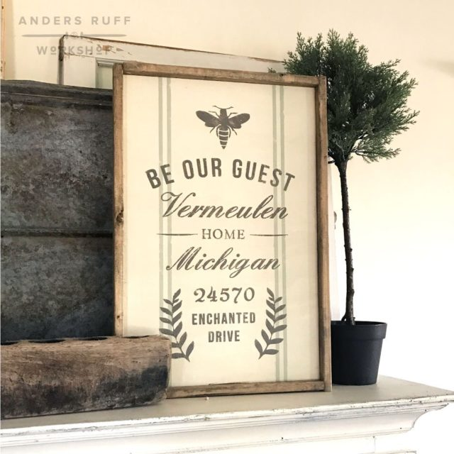 Guest Room Sign Decor: DIY Home Decor For Spring- What Will You Be Making?