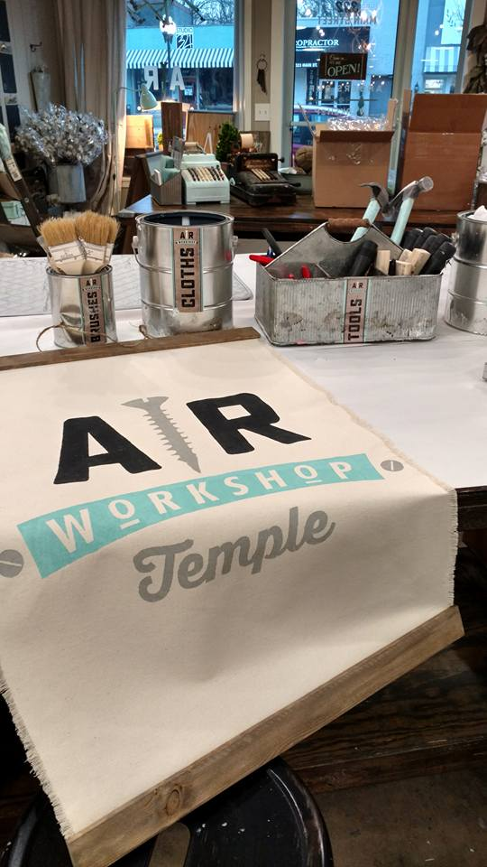AR Workshop Temple